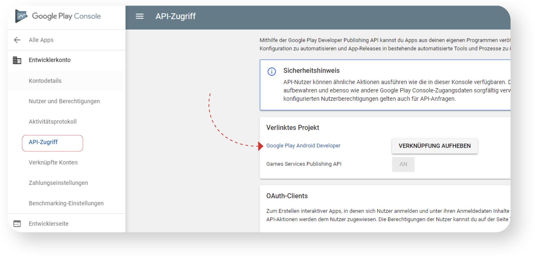 API-Zugriff