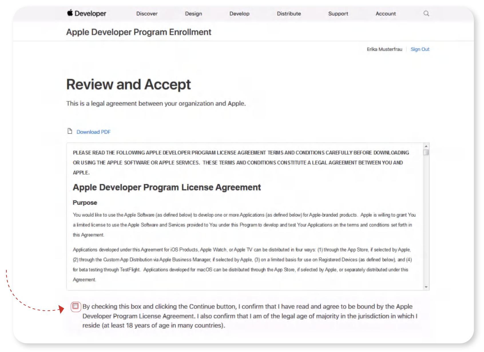 Apple Developer Program License Agreement