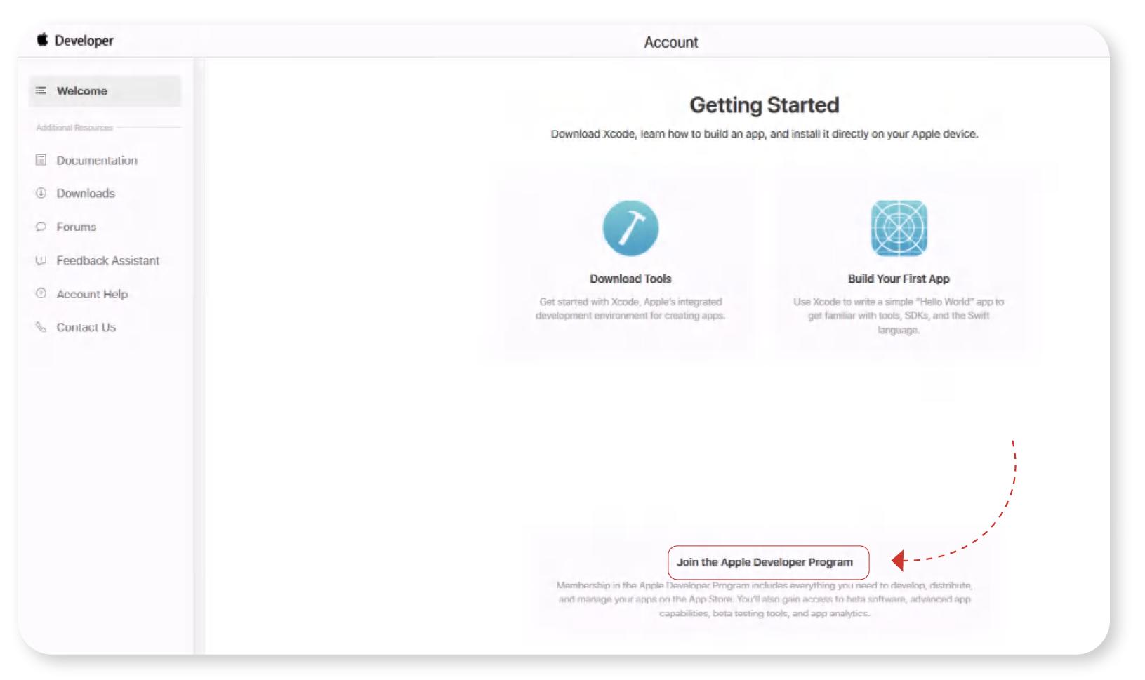 Join the Apple Developer Program